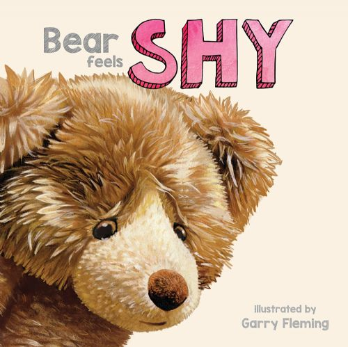 Bear Feels Shy - Board Book